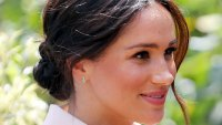 Meghan Markle's Messy Bun Was an Intentional Blend of Royal and Trendy