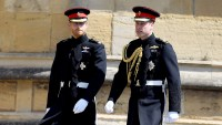 Prince Harry and Prince William awkward