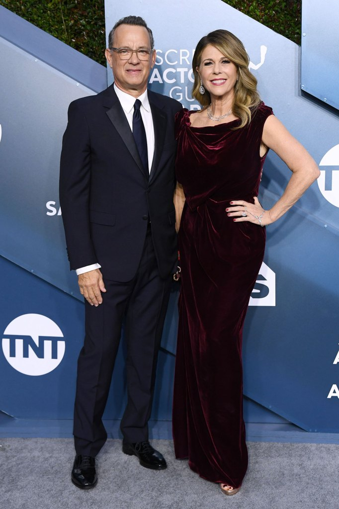 Tom Hanks et Rita Wilson 26e cérémonie annuelle des Screen Actors Guild Awards Coronavirus