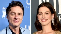 Zach Braff Says Anne Hathaway's Dad Almost Strangled Him at a Premiere