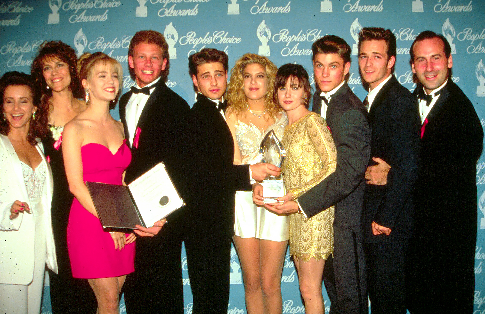 'Beverly Hills, 90210' Cast's Sweetest Quotes About Luke Perry