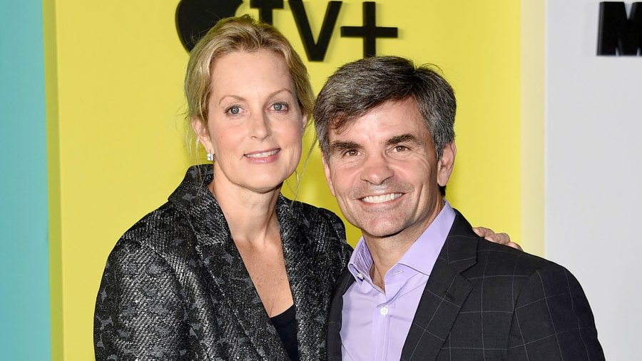 Ali Wentworth and George Stephanopoulos downplayed first date