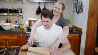 Amy Schumer Chris cooking Food Network