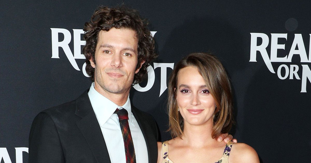 Leighton Meester's Daughter on Her, Adam Brody Working Together