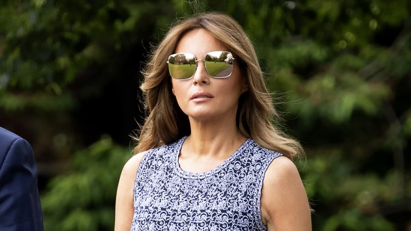 Melania Trump Shows Us How to Wear a Mididress Like a Style Pro