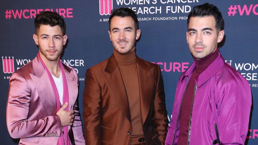 Nick Jonas, Kevin Jonas and Joe Jonas Jonas Brothers Quarantining With Family