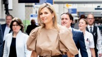 Queen Maxima Shows Us How to Do a Chic Monochrome Look