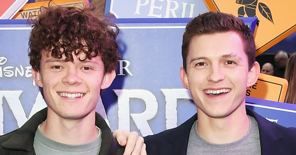 Tom Holland Gives Brother Harry a Salon-Quality Haircut at Home