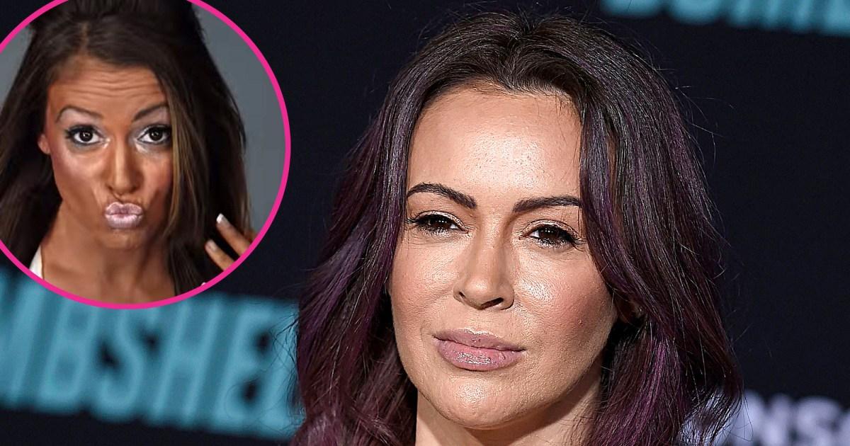 Alyssa Milano Hits Back at Accusations She Wore Blackface