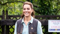 Duchess Kate Looks Garden Chic for Her 1st In-Person Appearance