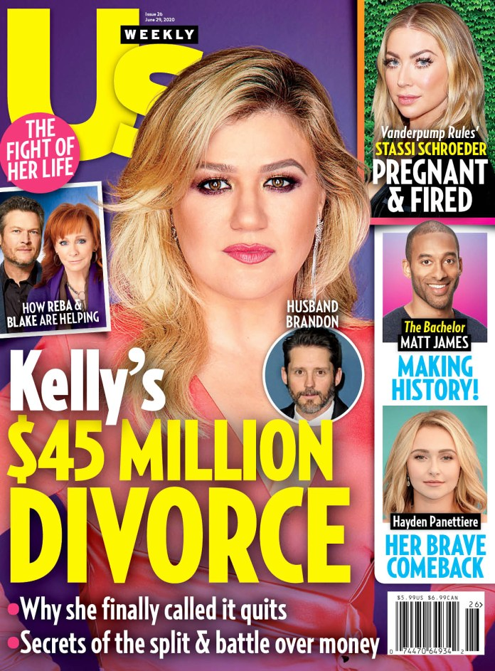 Us Weekly Cover Issue 2220 Kelly Clarkson Divorce Hayden Panettiere Path Recovery After Drama With Brian Hickerson