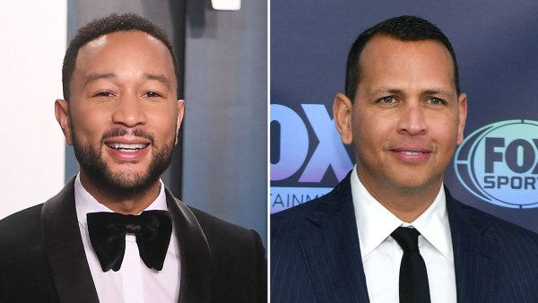John Legend Alex Rodriguez Celebrate Fathers Day Food