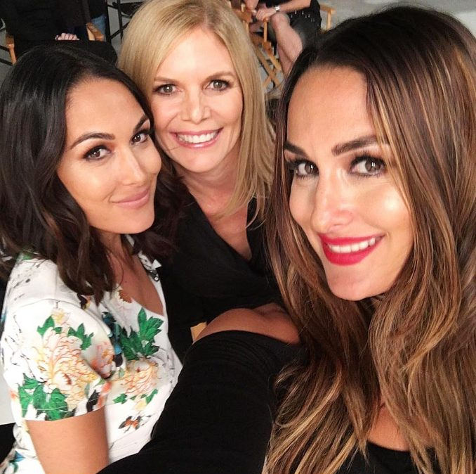 Nikki Bella and Brie Bella Mom to Undergo Brain Surgery for a Mass That Is Paralyzing Her Face