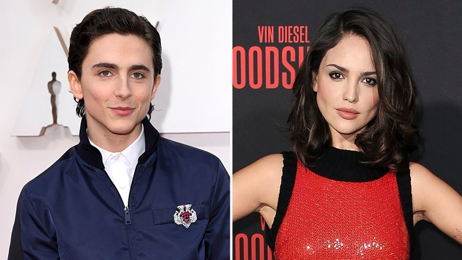 Timothee Chalamet Eiza Gonzalez Spotted Kissing in Mexico