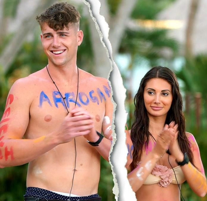 Too Hot to Handle Francesca Farago Harry Jowsey Split