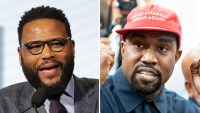 Anthony Anderson reacts to Kanye West presidency p