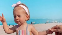 See Arie Luyendyk Jr., Lauren Burnham's Daughter Alessi's Pics