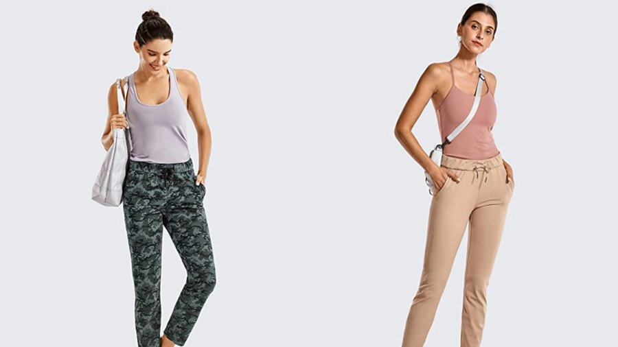 CRZ YOGA Women's Stretch Lounge Sweatpants
