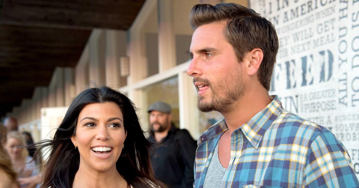 Every Time Scott Disick Got Flirty With Kourtney Kardashian on Social Media