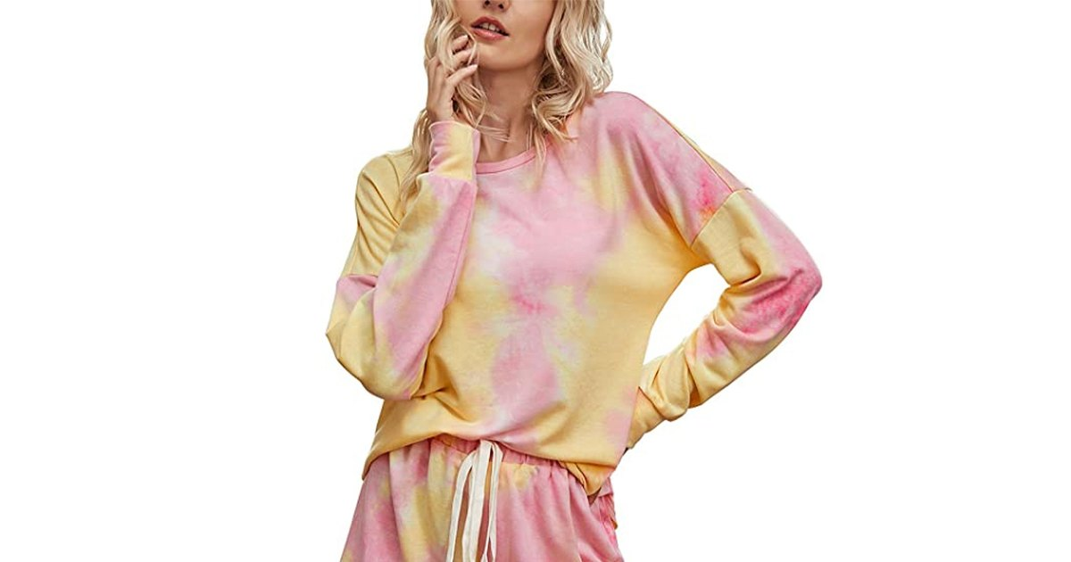 You'll Want to Live in This Adorable Tie-Dye PJ Set All Day Long
