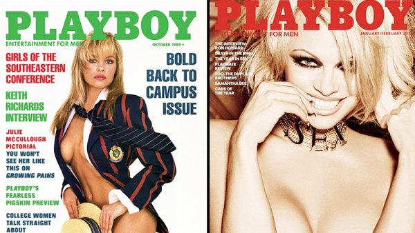 Pamela Anderson Playboy Covers