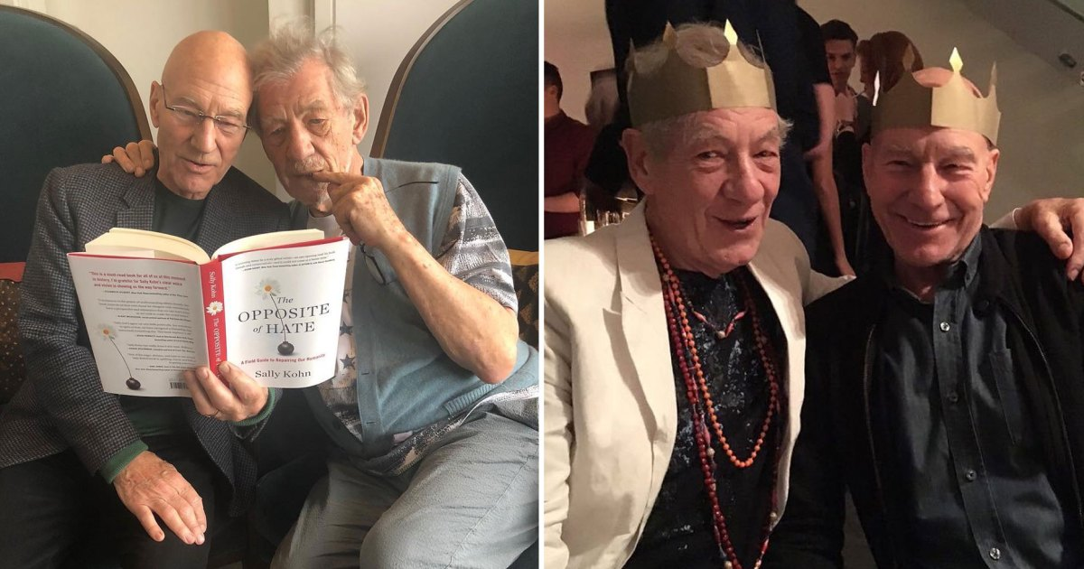 Patrick Stewart and Ian McKellen's BFF Moments: 'X-Men' Movies and Beyond