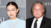 Pregnant Gigi Hadid Dad Mohamed Hadid Covers Her Baby Bump in Rare Pic