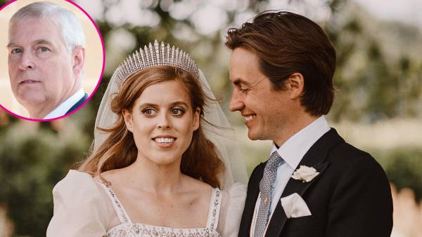 Prince Andrew Gave a Speech at Daughter Princess Beatrice's Wedding Reception Amid Scandal p