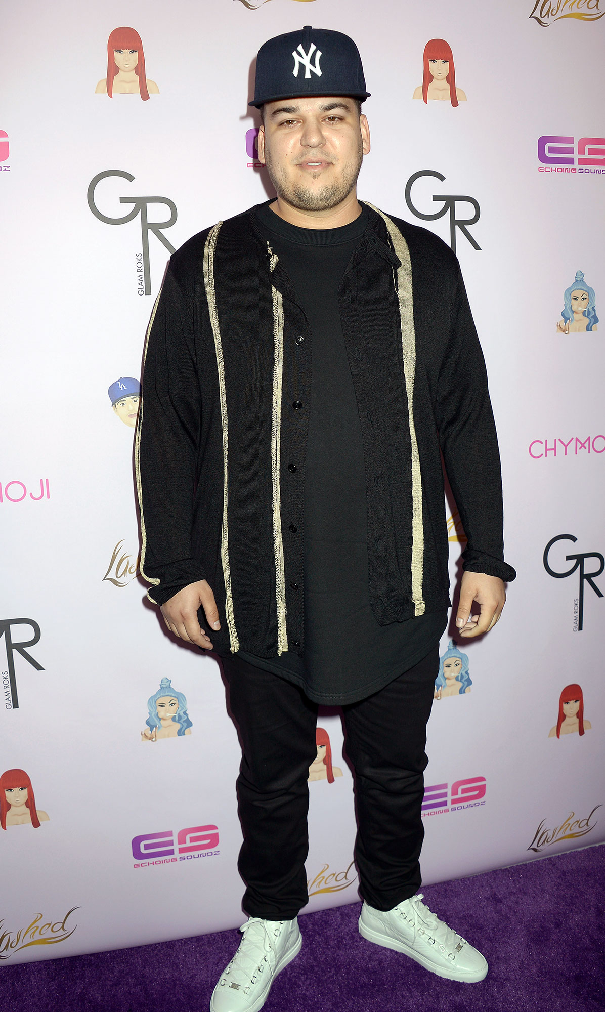 Rob Kardashian Says He's 'Thankful Every Day' for Daughter Dream