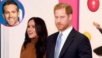 Ryan Reynolds Jokes About Prince Harry and Meghan Markle's Royal Step Back p