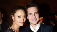 Thandie Newton and Tom Cruise at Pre-BAFTA Dinner Thandie Newton Recalls Tom Cruise Giving Her a Book With the Greatest Hits of Scientology for Christmas