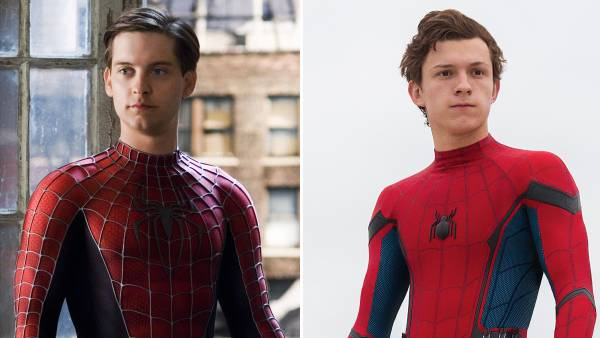 Tobey Maguire Tom Holland and More Actors Who've Portrayed Spider-Man