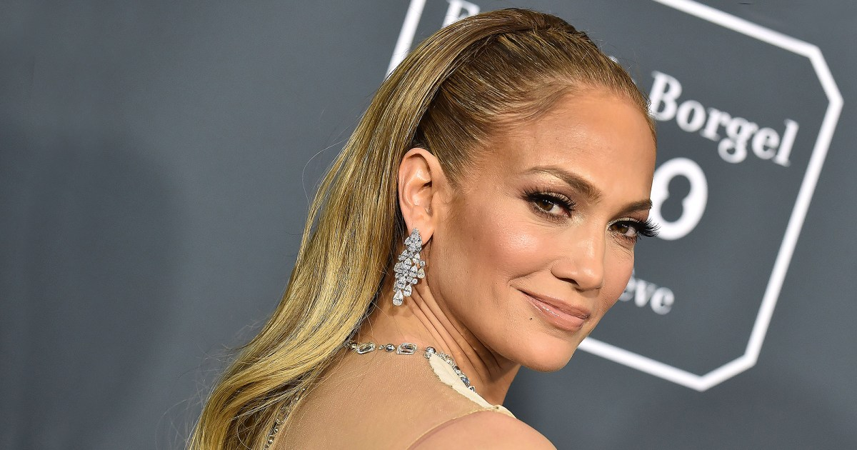 The Iconic Guess Swimsuit Jennifer Lopez Can't Stop Wearing