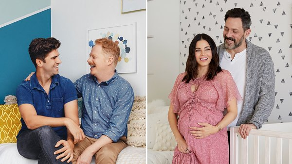 Inside Celeb Parents Unique Nurseries Jesse Tyler Ferguson Jenna Dewan and More