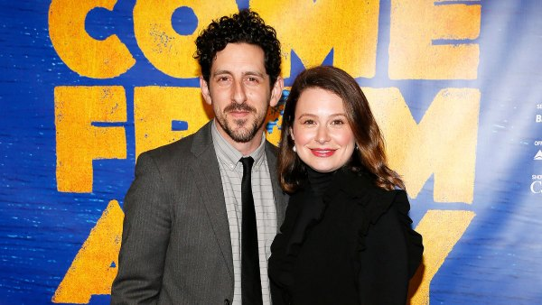 Katie Lowes Adam Shapiro gives birth