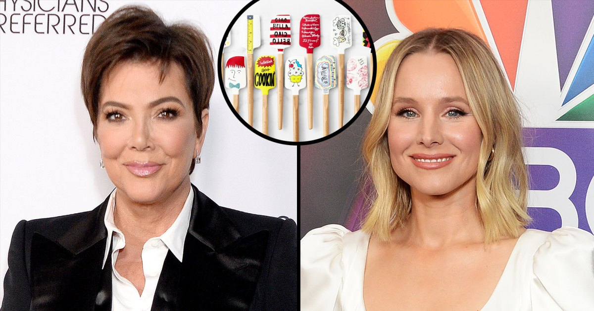 Kris Jenner, Kristen Bell and More Stars Design Spatulas for Charity