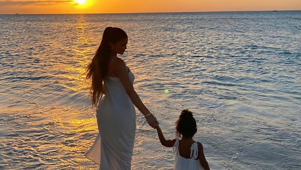 Kylie Jenner and Stormi Have an Angelic Twinning Moment
