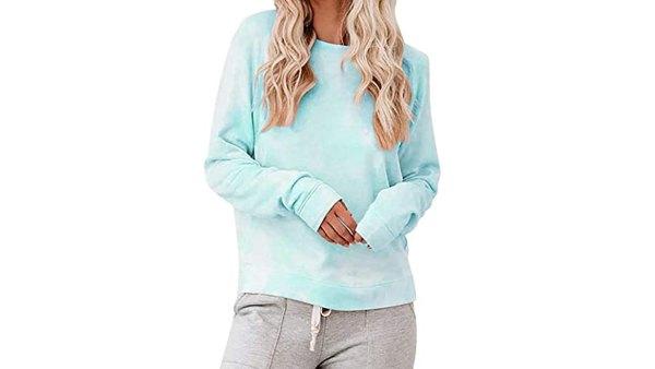 Laseily Women's Tie Dye Sweatshirts