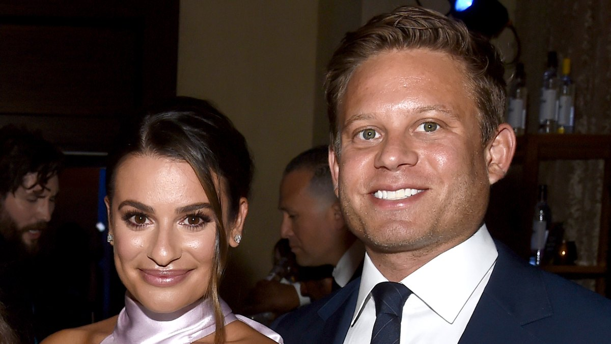 Lea Michele Gives 1st Glimpse Of Her Zandy Reich S Baby Boy Ever