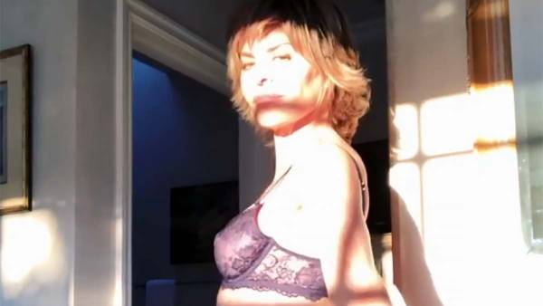 You Have to See Lisa Rinna Dance Around in Savage x Fenty Lingerie