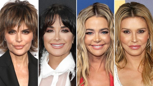 Lisa Rinna and Kyle Richards Dismiss Denise Richards' Claims That They Also Had Affairs With Brandi Glanville