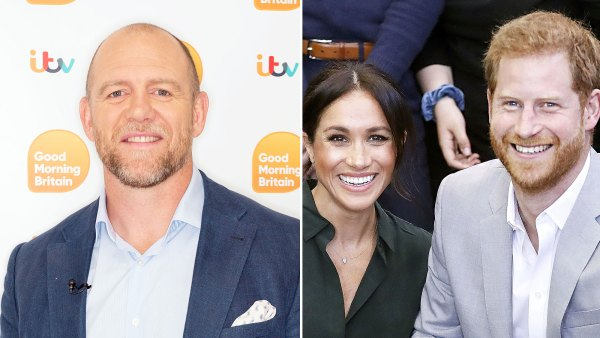 Mike Tindall Hopes Prince Harry and Meghan Markle Are Happy After LA Move