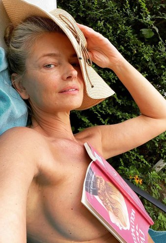 Paulina Porizkova and More Stars Who've Gone Topless This Summer