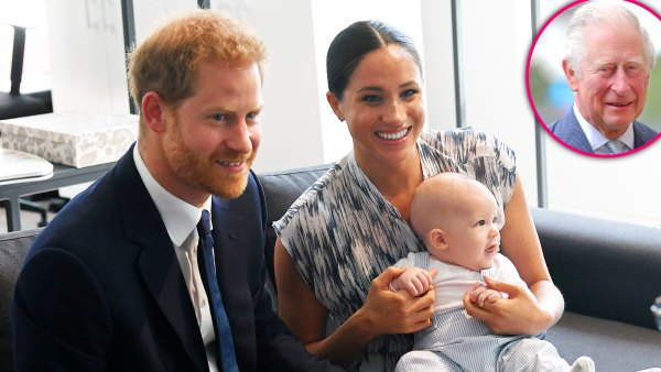 Prince Harry And Meghan Markles Son Archie Will Become A Prince When Charles Is King