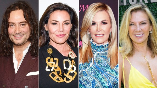 Real Housewives Of New York Fans Speculate Constantine Maroulis Is the 'American Idol Star Luann de Lesseps Tinsley Mortimer and Ramona Singer Dated