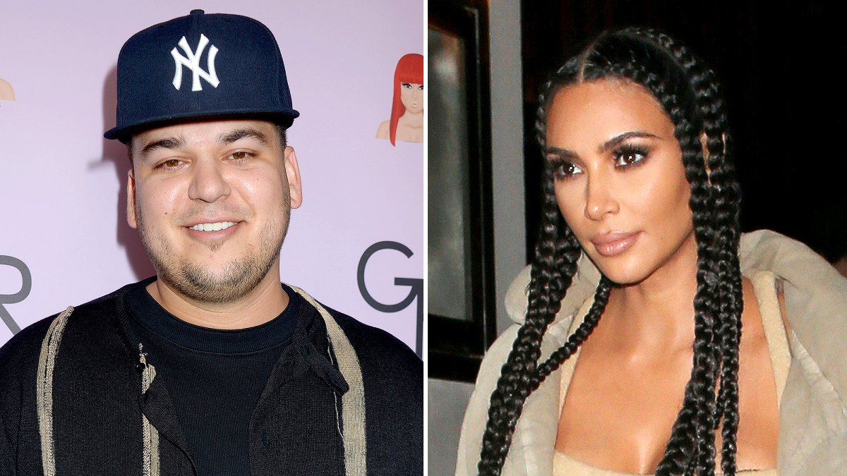 Rob Kardashian Trolls Kim Kardashian For Scarface Caption