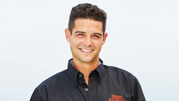 Wells Adams Spotted Bartending at Bachelorette Resort