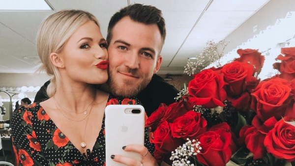 Witney Carson and Carson McAllister Pregnant DWTS Gener Reveal