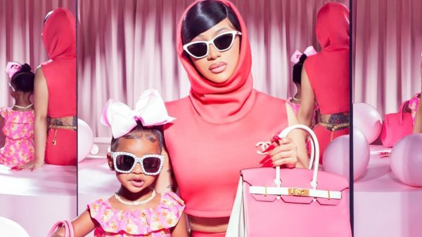 Cardi B and Kulture Are Mother-Daughter Goals With Matching Birkin Bags