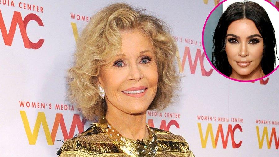 Jane Fonda talks Kim Kardashian